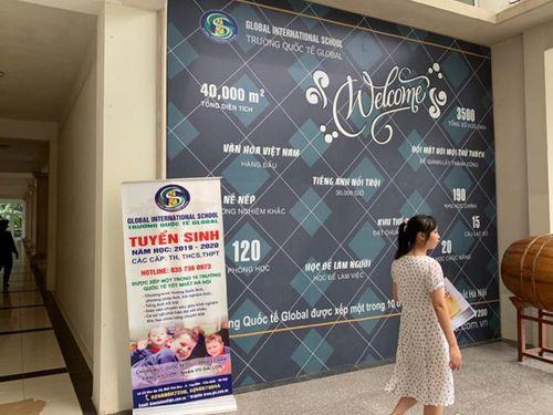 Tận mục trường Quốc tế Global 'dỏm', không có trong 11 trường xịn Sở Giáo dục công bố