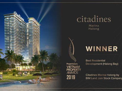 Bim Land tiếp nhận giải thưởng lớn trong lĩnh vực bất động sản năm 2019