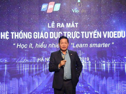 Chủ tịch FPT Trương Gia Bình: 'Giáo dục là lĩnh vực đầu tiên Việt Nam cần tập trung trong cách mạng 4.0'