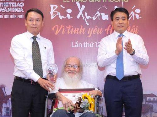 Việc xây dựng đường đua F1 Hà Nội giành giải Bùi Xuân Phái - Vì tình yêu Hà Nội 2019