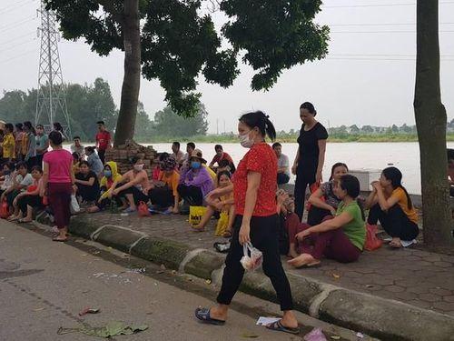 Hàng nghìn công nhân Công ty NamYang Delta tại Hải Dương đình công