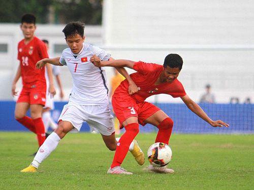 U15 Việt Nam lội ngược dòng ngoạn mục