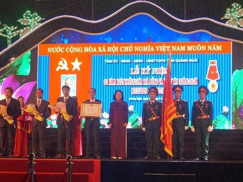 Kỷ niệm 60 năm cuộc khởi nghĩa Trà Bồng và miền Tây Quảng Ngãi