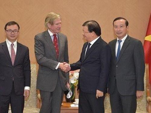Đánh giá cao tập đoàn Anh thăm dò, khai thác dầu khí vùng thềm lục địa Việt Nam