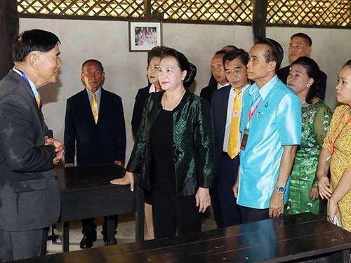 Chủ tịch Quốc hội Nguyễn Thị Kim Ngân thăm tỉnh U-đon Tha-ni của Thái-lan
