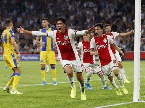 Ajax giành vé vào vòng bảng Champions League 2019-20