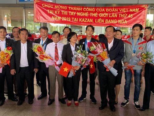 Kỳ thi tay nghề thế giới: Việt Nam đạt 8 chứng chỉ tay nghề xuất sắc