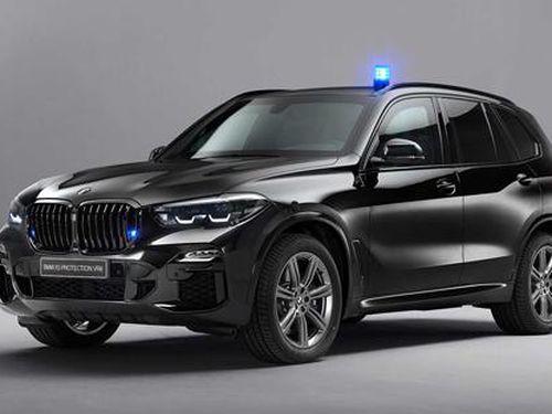 BMW 'độ' SUV X5 chống đạn súng AK-47 và lựu đạn nổ