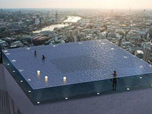 Sắp có bể bơi vô cực 360 độ đầu tiên trên thế giới đẹp long lanh