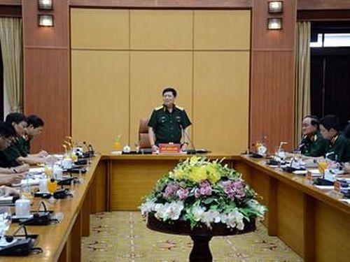 Bộ trưởng Bộ Quốc phòng Ngô Xuân Lịch làm việc với Bộ Tổng Tham mưu về tái cơ cấu các doanh nghiệp quân đội