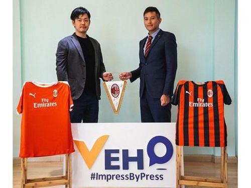 Học viện Bóng đá AC Milan Hà Nội hợp tác truyền thông cùng Daisei VEHO Work