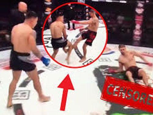 Võ sĩ MMA dính chấn thương kinh dị sau khi tấn công đối thủ