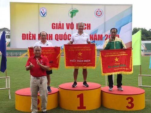 Quân đội dẫn đầu toàn đoàn giải vô địch điền kinh VĐQG 2019