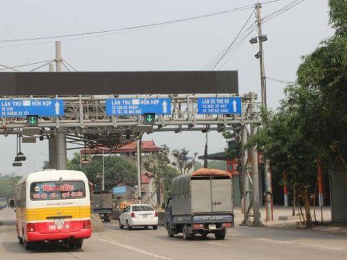 Đảm bảo an ninh trật tự thu phí trạm QL3 Thái Nguyên - Chợ Mới