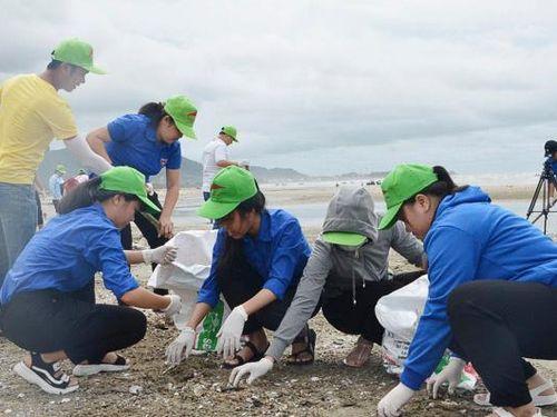 Tuổi trẻ xung kích bảo vệ môi trường