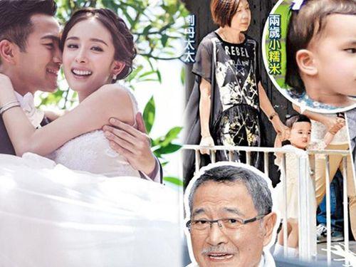 Hé lộ tên thật của bé Tiểu Gạo Nếp - con gái Lưu Khải Uy và Dương Mịch