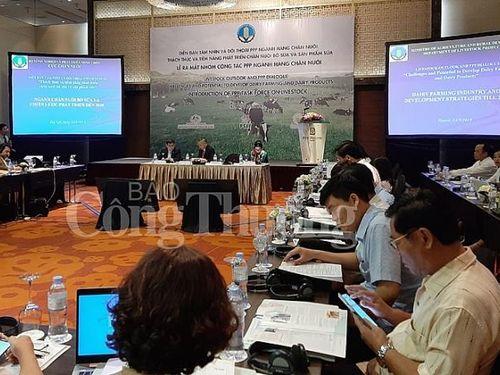 Hợp tác công tư: Thúc đẩy và nâng cao năng lực cạnh tranh cho sản phẩm sữa Việt
