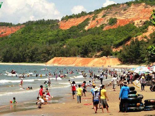 Bình Thuận công bố các bãi tắm biển an toàn ở Phan Thiết