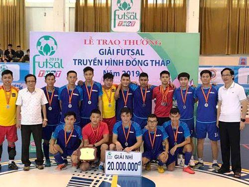 Nhiều hấp dẫn Giải Futsal Truyền hình Đồng Tháp 2019