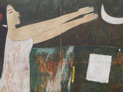 Triển lãm mỹ thuật 'Tranh, tượng Lê Công Thành'