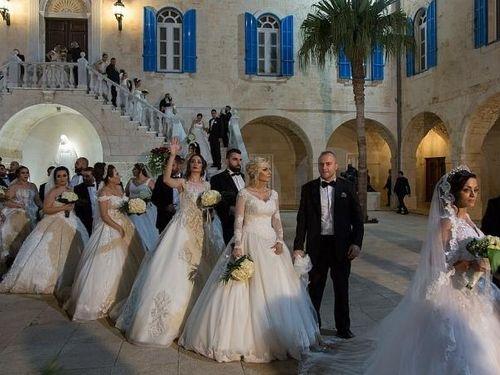 Lebanon nở rộ đám cưới tập thể
