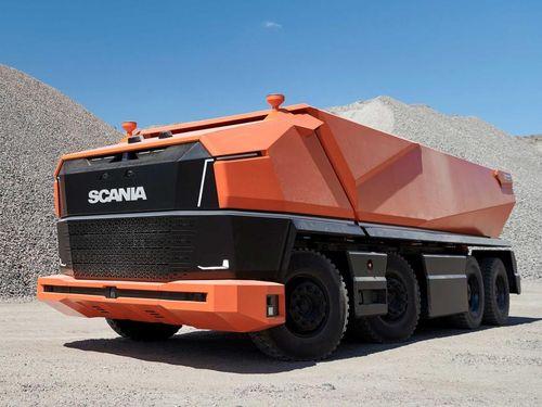 Chiếc xe tải hạng nặng tự hành đầu tiên trên thế giới