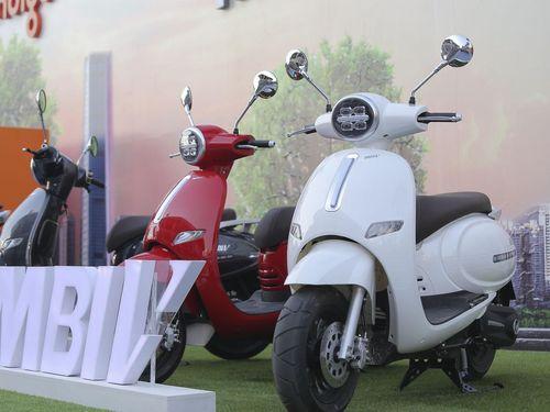 Xe máy điện Mbigo ra mắt thị trường Việt Nam, cạnh tranh VinFast Klara