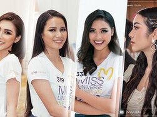 Top 30 Miss Universe Vietnam 2019 lộ diện: Thúy Vân - Hương Ly 'trùm cuối' xuất hiện sau cùng?