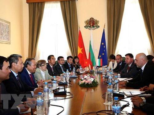 Đưa hợp tác Việt Nam - Bulgaria lên tầm cao mới