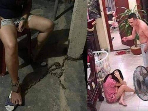 Bị chồng đánh, xích chân... chua xót phận phụ nữ Việt