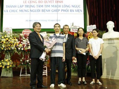 Thêm kỳ tích của ngành y Việt Nam: Sau ghép phổi hơn 1,5 tháng, bệnh nhân đã hoàn toàn ổn định và xuất viện