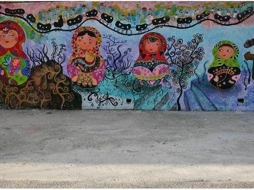 Ấn tượng những tác phẩm nghệ thuật đường phố tại Cao Hùng Đài Loan