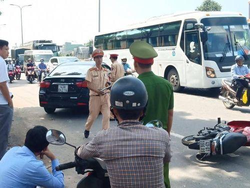 Đà Nẵng: Tai nạn liên hoàn trên tuyến QL1A, 1 người trọng thương