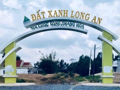 KDC Đất Xanh Long An đã được phê duyệt đồ án quy hoạch chi tiết xây dựng 1/500