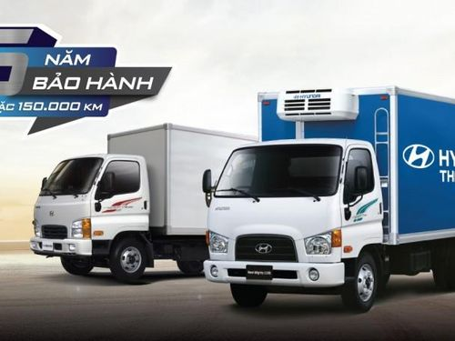 Xe thương mại Hyundai mở rộng hệ thống, tăng bảo hành lên 5 năm