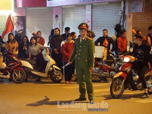 Hà Nội phân luồng 21 tuyến phố phục vụ trận đấu giữa Việt Nam và Malaysia