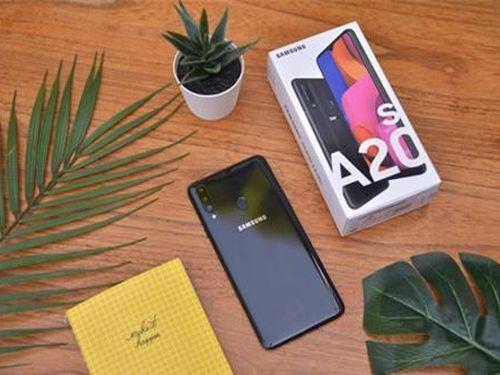 Galaxy A20s chính thức lên kệ tại Việt Nam, thiết kế siêu mỏng, màn hình vô cực