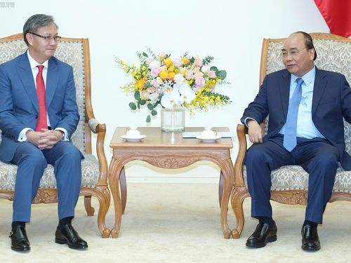Thủ tướng tiếp Đại sứ Lào chào từ biệt kết thúc nhiệm kỳ