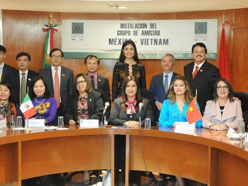 Hạ viện Mexico thành lập Nhóm Nghị sỹ Hữu nghị với Việt Nam