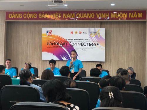 Triển lãm và workshop mỹ thuật quốc tế 'Hà Nội một kết nối nghệ thuật'