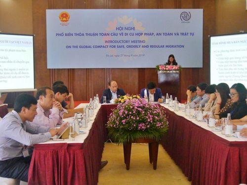 Hội nghị phổ biến Thỏa thuận toàn cầu về Di cư hợp pháp, an toàn và trật tự tại TP. Hồ Chí Minh