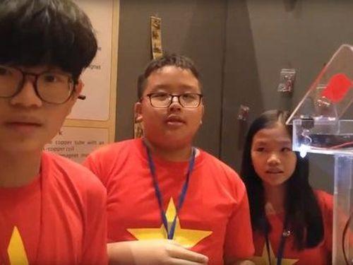 Việt Nam đoạt 3 huy chương tại cuộc thi Nhà phát minh trẻ quốc tế IYIA 2019