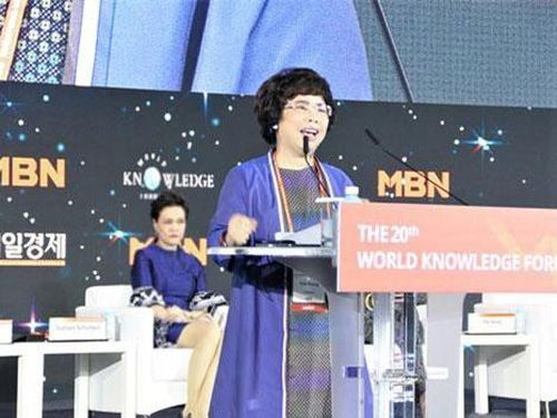 Bà Thái Hương: 'Làm mẹ là lợi thế rất lớn của nữ doanh nhân'