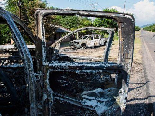 13 cảnh sát ở Mexico thiệt mạng do bị phục kích
