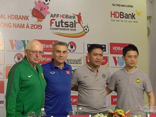 Tuyển futsal Việt Nam muốn vào chung kết giải ĐNÁ 2019