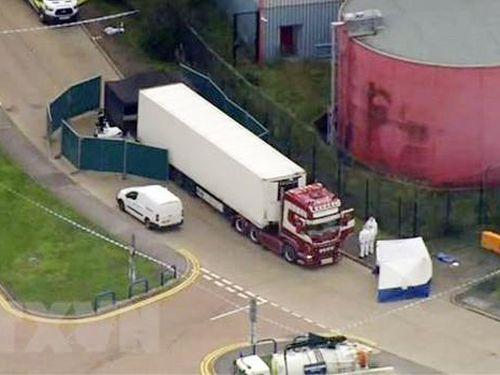Anh điều tra vụ thi thể 39 người trong container