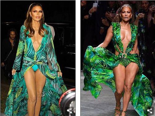 Lisa Rinna hóa thân thành Jennifer Lopez với bộ cánh không thể bạo hơn