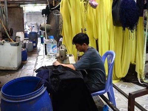 Tháo gỡ dứt điểm ô nhiễm trong lĩnh vực dệt nhuộm