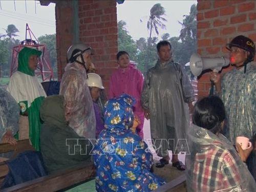 Phú Yên chủ động di dời hàng nghìn nhân khẩu trong bão số 5