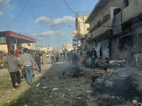 Nổ bom ở thị trấn vùng biên Syria, Thổ Nhĩ Kỳ tố người Kurd là thủ phạm